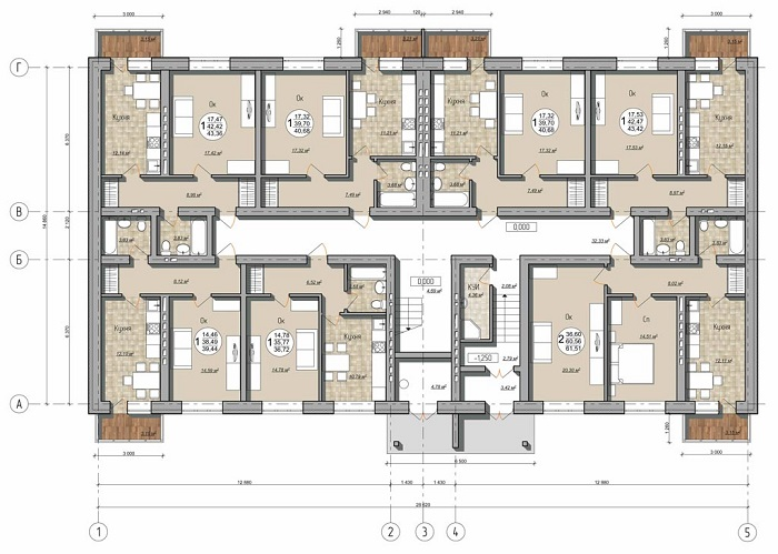 планы квартиры в новостройке